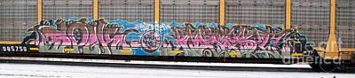 Photograph - Graffiti 6 by Ronald Grogan