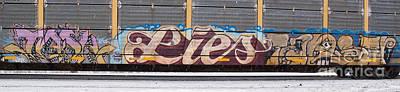 Photograph - Graffiti 7 by Ronald Grogan