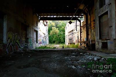 Vandalize Photograph - Graffiti Alley 1 by Jacqueline Athmann
