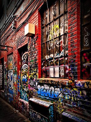Photograph - Graffiti Alley by James Howe