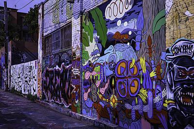 Graffiti Alley San Francisco Art Print by Garry Gay