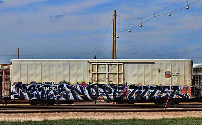 Graffiti Photograph - Graffiti - Alphabet by Graffiti Girl