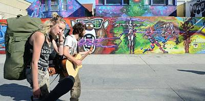 Photograph - Graffiti And Music by Fraida Gutovich
