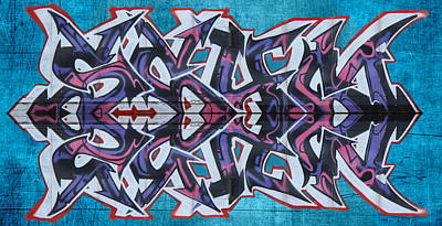 Dean Russo Photograph - Graffiti - Arrows by Graffiti Girl