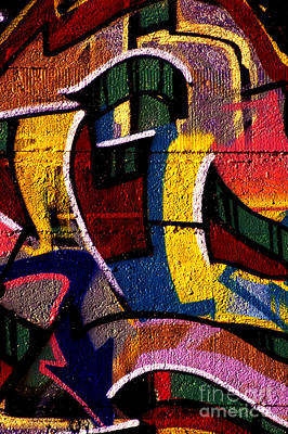 Photograph - Graffiti Art - 080 by Paul W Faust -  Impressions of Light