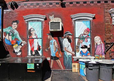 Photograph - Grafitti Art 9 by Allen Beatty