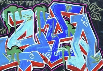 Photograph - Grafitti Art by Allen Beatty