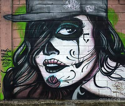 Graffiti Art Curitiba Brazil 21 Art Print by Bob Christopher