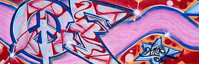 Graffiti Art, Los Angeles, California Art Print