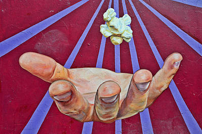 Hop Photograph - Graffiti Art - The Hand by Christine Till