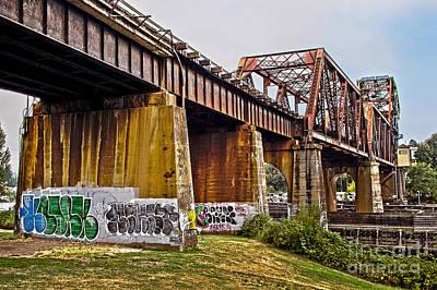 Caravaggio - Graffiti Bridge by Sonya Lang