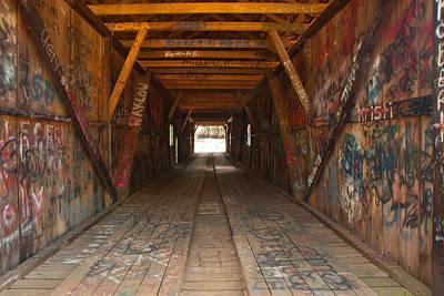 Photograph - Graffiti by Charles Beeler