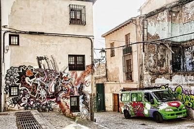 Graffiti City Art Print by Alicia Morales