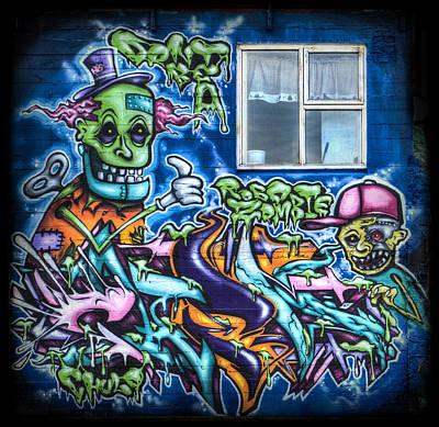 Monster Photograph - Graffiti City by Evelina Kremsdorf