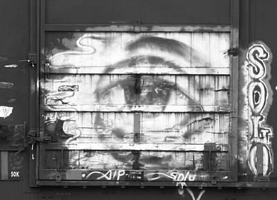 Photograph - Graffiti Eye by Joseph C Hinson Photography