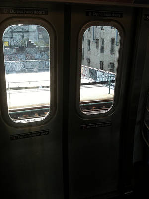 Photograph - Graffiti From Subway Train by Mieczyslaw Rudek