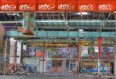 Graffiti Gallery Art Print by David Birchall