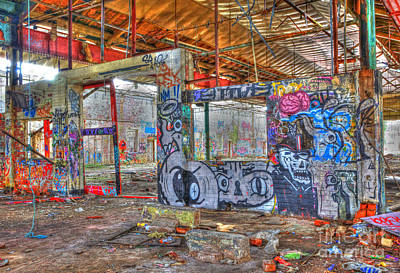 Photograph - Graffiti Heaven by David Birchall