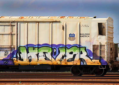 Dean Russo Photograph - Graffiti - Hover by Graffiti Girl