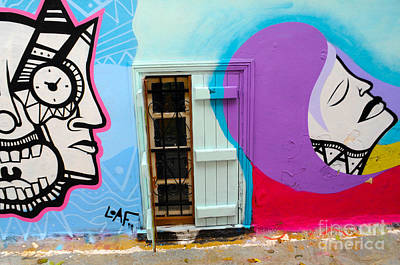 Photograph - Graffiti In Athen's Streets by Haleh Mahbod
