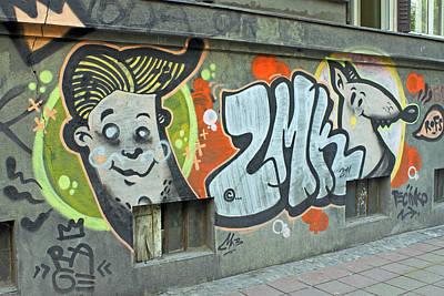 Photograph - Graffiti In Belgrade by Tony Murtagh