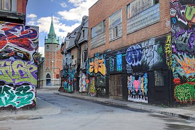 Photograph - Graffiti In Montreal City by Pierre Leclerc Photography