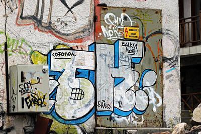 Photograph - Graffiti In Sozopol by Tony Murtagh