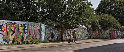 Photograph - Graffiti In The City by Inge Riis McDonald