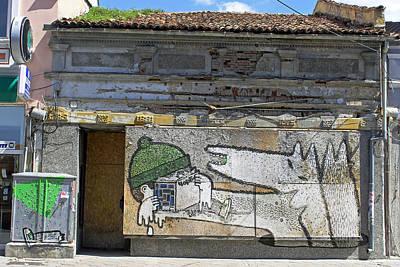 Photograph - Graffiti In Veliko Tarnovo  by Tony Murtagh