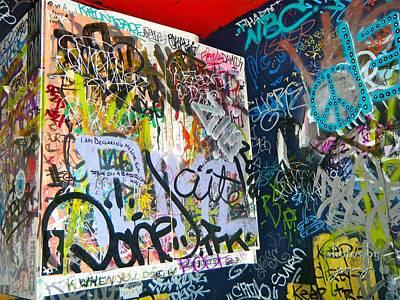 Photograph - Graffiti by Jamie Johnson
