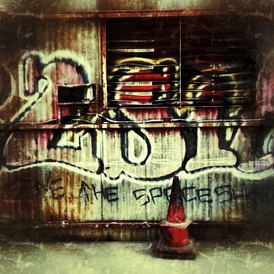 Graffiti  Original by Jeff Klingler