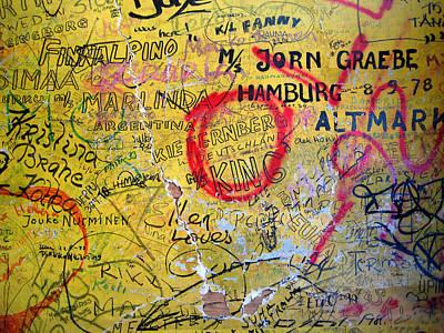 Photograph - Graffiti by Leena Pekkalainen