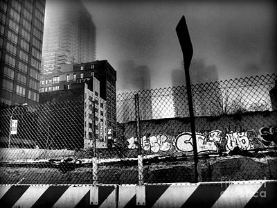 Photograph - Graffiti Noir by Miriam Danar