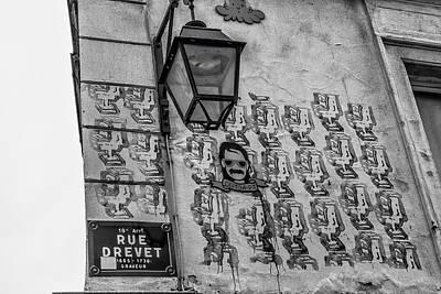 Photograph - Graffiti On Rue Drevet by Georgia Fowler