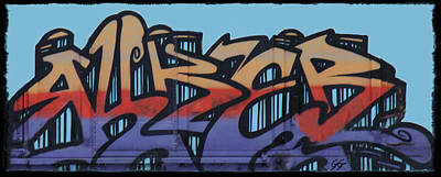 Dean Russo Photograph - Graffiti - Panel by Graffiti Girl
