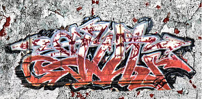 Graffiti Photograph - Graffiti - Red Arrows by Graffiti Girl