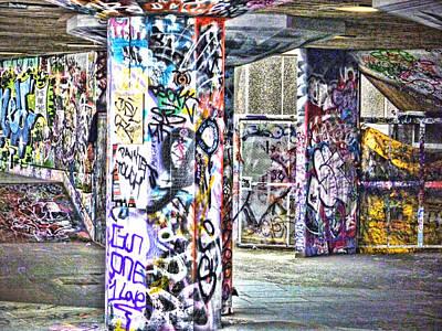 Graffiti Art Print by Sharon Lisa Clarke