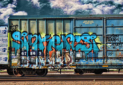 Dean Russo Photograph - Graffiti - Sinker by Graffiti Girl