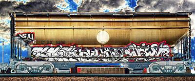 Graffiti Solar Graphical Art Print