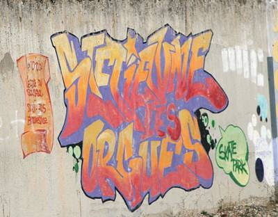 Photograph - Graffiti South France 2 by Phoenix De Vries