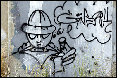 Graffiti Spokane 1 Art Print