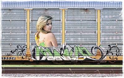Graffiti - Tinkerbell Art Print by Graffiti Girl