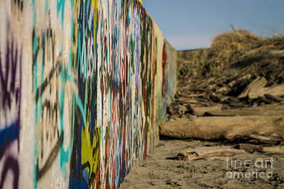 Photograph - Graffiti Wall by Arlene Sundby