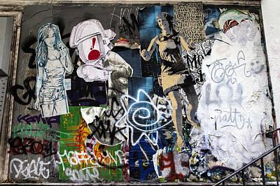 Photograph - Graffiti Wall by Georgia Fowler