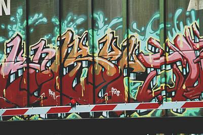 Photograph - Graffiti Train by Dan Sproul
