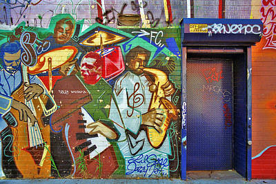 Photograph - Grafitti Art 4 by Allen Beatty
