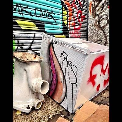 Octopus Wall Art - Photograph - Grafitti #cardiff #graffiti #urban by Gareth Thompson