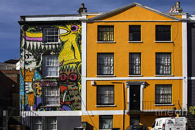 Photograph - Grafitti House by Brian Roscorla