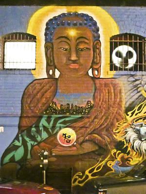 Photograph - Graffiti Wall 1 Image Art by Jo Ann Tomaselli