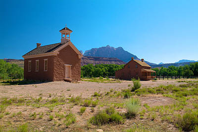 Photograph - Grafton Ghost Town by Richard J Cassato
